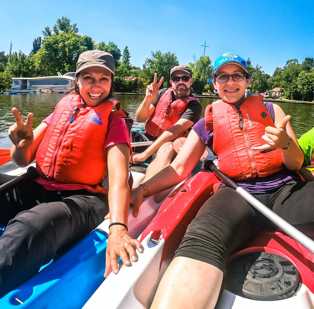 Kayaking in Bucharest with Green Adventure