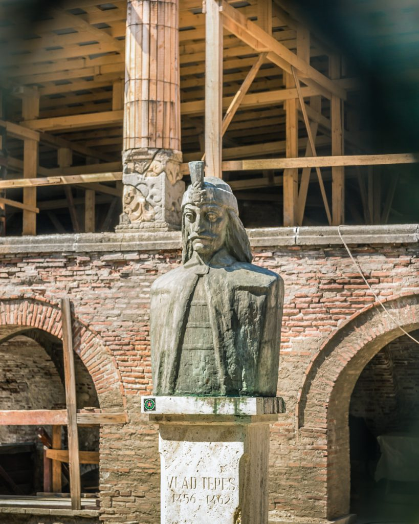 Bust of VLad the Impaler